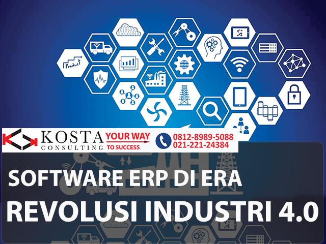 software erp di tahap empat revolusi industri, software erp, konsultan erp, idempiere, kosta consulting, pt kresi solusi teknologi